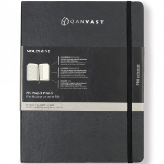 Moleskine Hard Cover Ruled XL Professional Project Planner - Scr