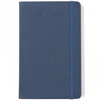 Moleskine Leather Ruled Large Notebook - Deboss