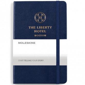 Moleskine Medium Notebook and GO Pen Gift Set - Screen Print