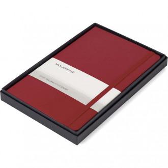 Moleskine Large Notebook Gift Set - Deboss