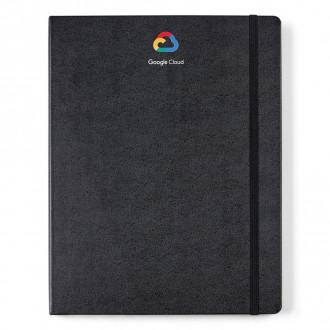 Moleskine Hard Cover Ruled XX-Large Notebook- Deboss