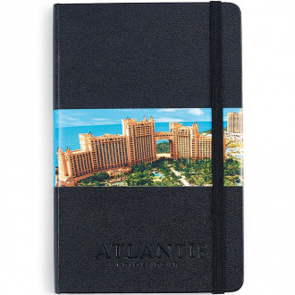 Moleskine Hard Cover Ruled Medium Notebook - Deboss