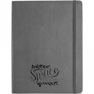 Moleskine Hard Cover Ruled X-Large Notebook - Deboss