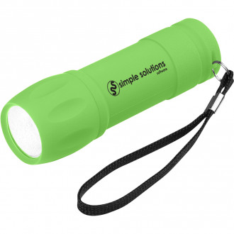 Rubberized Con Light With Strap