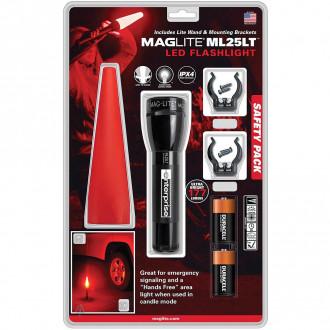 Maglite ML25LTLED Safety Pack