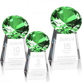 Celestina Gemstone Award Emerald