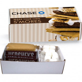 S'mores Microwave Kits in Mailer Boxes
