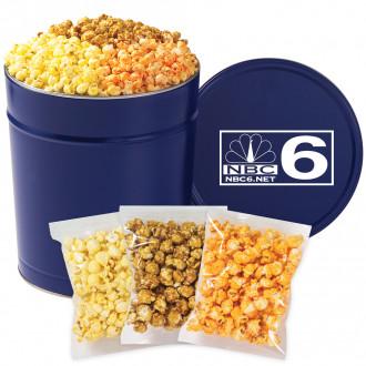 3 Way Popcorn Tins - Individually Bagged