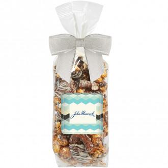 Gourmet Popcorn Gift Bag (Chocolate Pretzel & Potato Chip Po