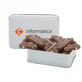 Almond Delight Chocolate Bark Tins