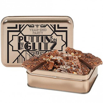 Sweet & Salty Pretzel Toffee Bark Tins