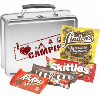 Metal Lunch Box (Candy Mix: Linden's Chocolate Chip Cookies, Kit