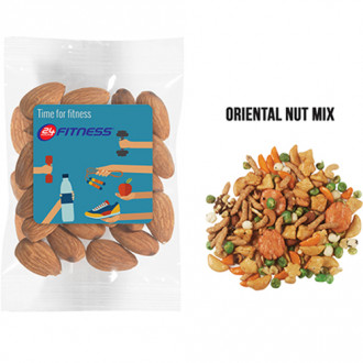1 oz Healthy Promo Snax Bags (Oriental Nut Mix)
