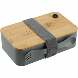 PLA Bento Box with Cutting Board Lid