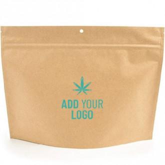 Custom Kraft Exit Bags - Child Resistant