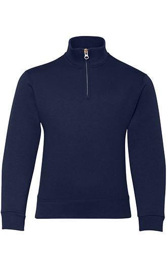 Nublend Youth Quarter-Zip Cadet Collar Sweatshirt