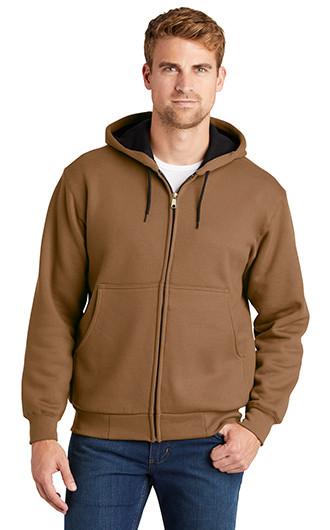 CornerStone - Heavyweight Full-Zip Hooded Sweatshirt with Therma