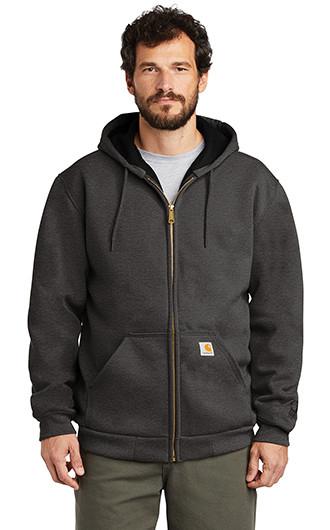 Carhartt Rain Defender Rutland Thermal-Lined Hooded Zip-Front Sw