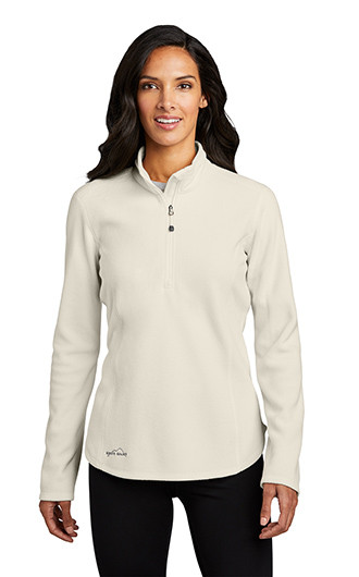Eddie Bauer Ladies 1/2-Zip Microfleece Jacket