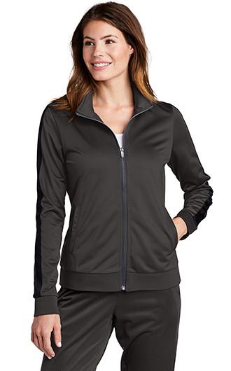 Sport-Tek Ladies Tricot Track Jacket