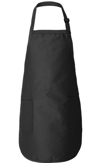 Q-Tees - Full-Length Apron with Pockets
