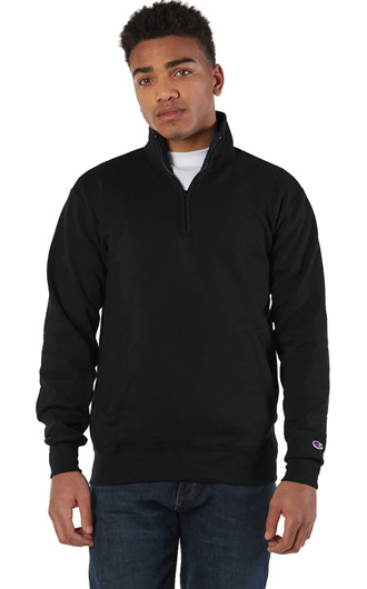 Champion Adult Double Dry Eco Quarter-Zip Pullover