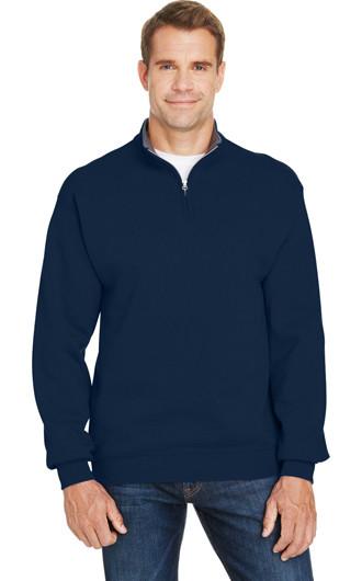 Fruit of the Loom Adult Sofspun Quarter-Zip Sweatshirt