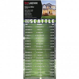 Football Schedule Magnet - Custom Imprint