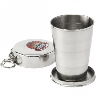 Collapsible Shot Glass - Silver