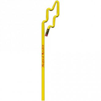 Lightning Bolt Shaped Bentcil  Pencils