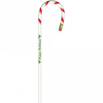 Candy Cane Shaped Bentcil Pencils
